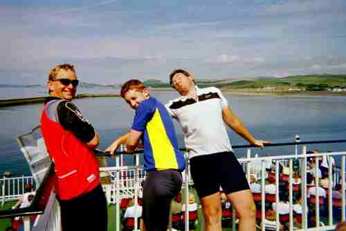 On the Arran ferry