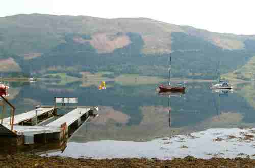 Early morning reflections on Loch Leven