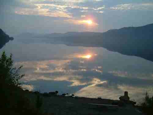 Sunrise over Loch Ness