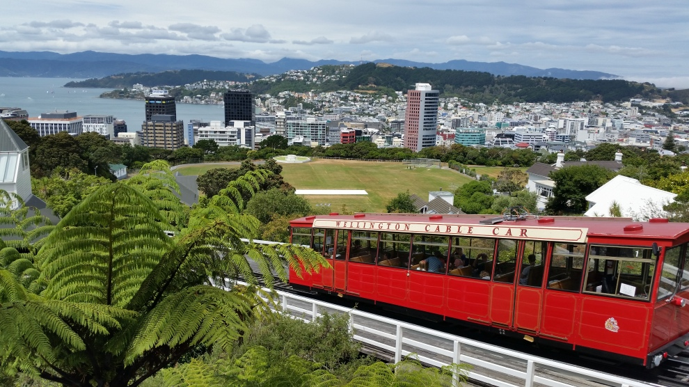 Wellington. The 'coolest small capital in the World' apparently