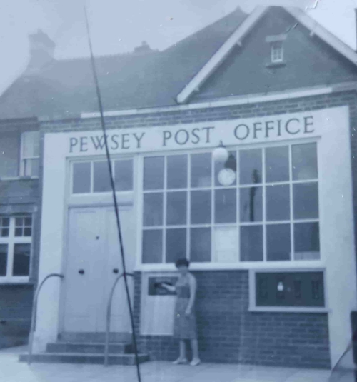 Pewsey Post Office in the 1960s