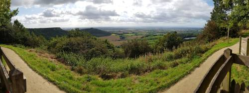 Sutton Bank the finest view in England according to James Herriot