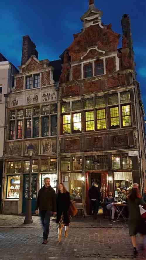 Two beautiful buildings in Ghent make the city spectacular to visit in the evening